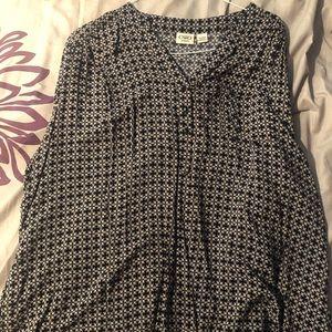 Woman's print blouse